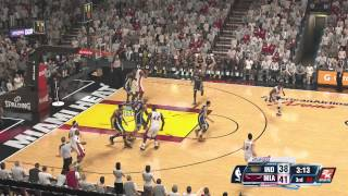 NBA 2K14 ( Xbox One ) Miami Heat vs. Pacers - Game 2 - FINAL
