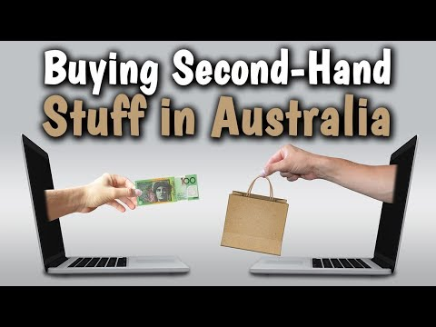 Buying Second-Hand Stuff in Australia: Gumtree & Facebook Market Place