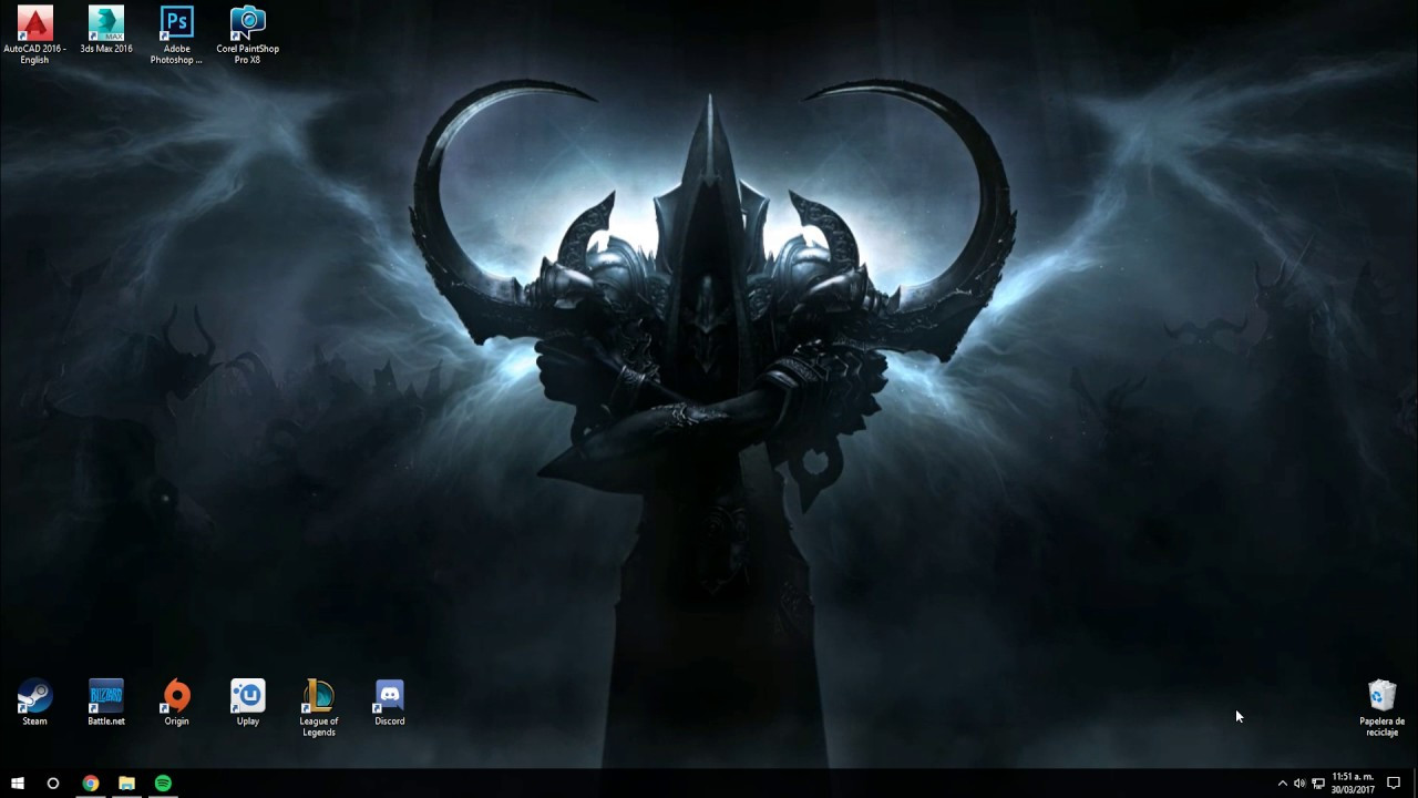 Wallpaper Engine Malthael wallpaper - YouTube
