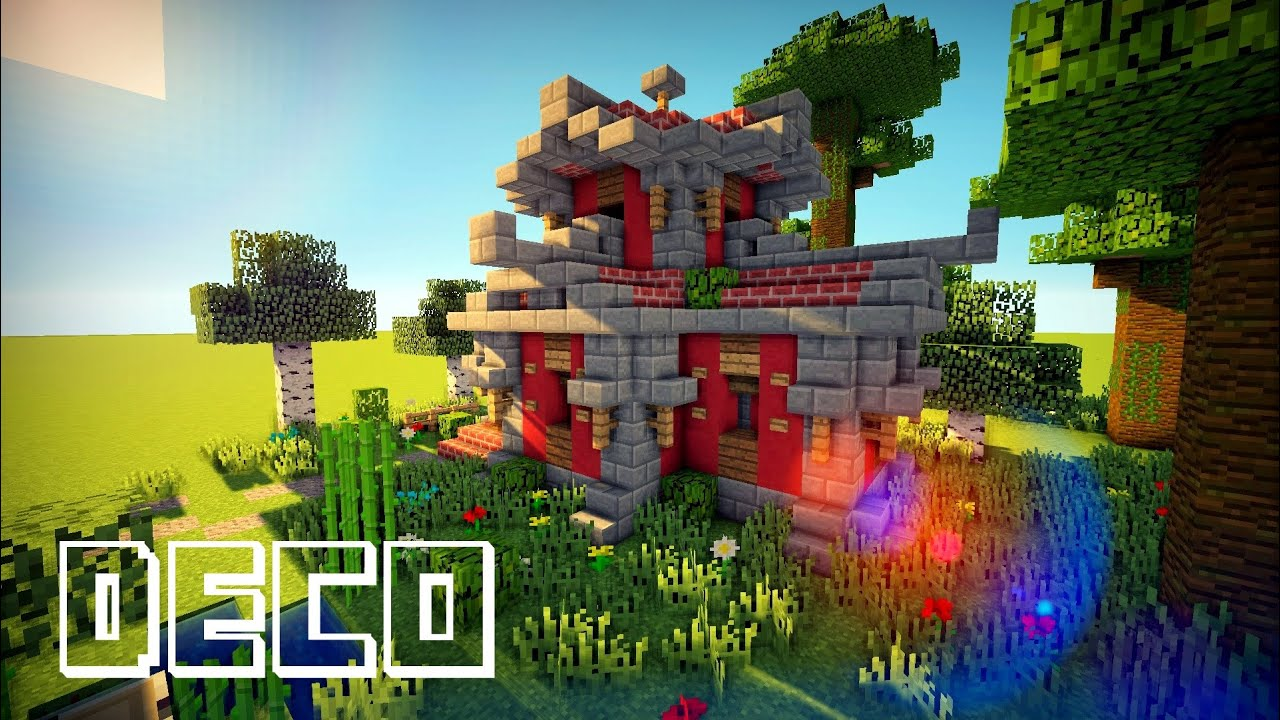Minecraft creer une maison asiatique youtube - Maison style asiatique ...