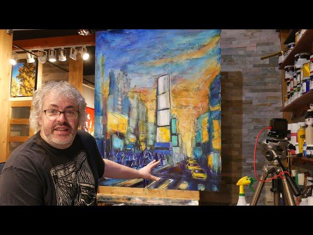 Semaine du 19 au 23 avril   Jean Pierre Gagnon artiste peintre.