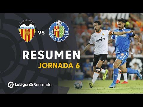Resumen de Valencia CF vs Getafe CF (3-3)