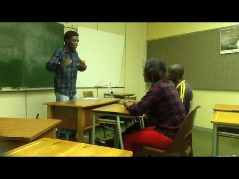 Teaching methods of English.Lesson presentation in Silozi video number 3