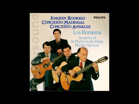 Joaquin Rodrigo Concerto Andaluz for 4 Guitars, Los Romeros