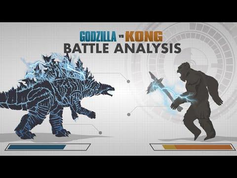 GODZILLA vs KONG 2021 | Battle FACE OFF | In Depth Combat Analysis!