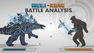 GODZILLA vs KONG 2021 | Battle FACE OFF | In Depth Combat Analysis!