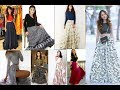 Silk skirts dresses designs girls latest long hot skirt crop tops blouse fashions