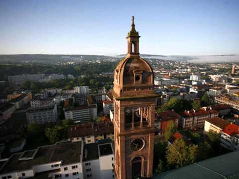 Cities of Germany , Pforzheim, buildings, park , leisure, tourism, history, women