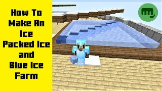HOW TO MAKE ICE / PACKED ICE / BLUE ICE FARM | Minecraft How to Tutorial ( Java 1.15.2 Vanilla )