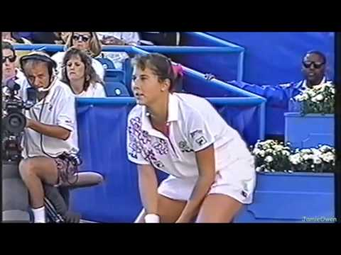 Monica Seles Vs Arantxa Sanchez-Vicario 1992 US Open Highlights