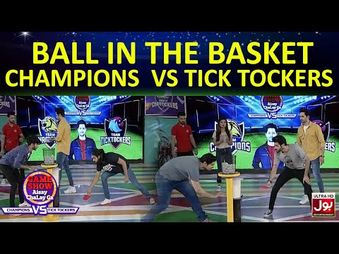 Ball In The Basket  | Game Show Aisay Chalay GaLeague| TickTock Vs Champion