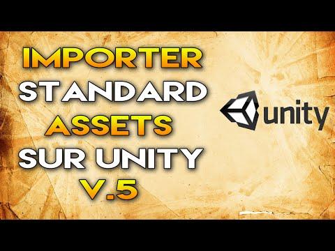 Unity 5 - Importer les assets de la version 4 (Standard Assets)