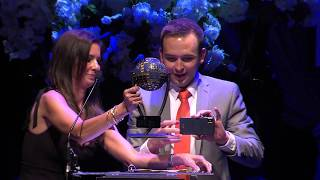 Local Radio Host Tommy McFly Reacts to Receiving EPIC Award