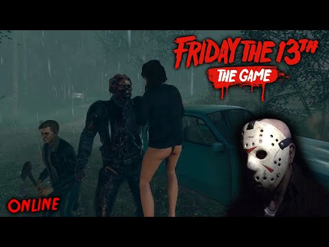 Friday The 13th The Game - Gameplay 2.0 - Jason Part 9