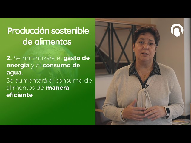 Producción sostenible de alimentos | Elisa Martín | CienciaCreActiva | Bio3