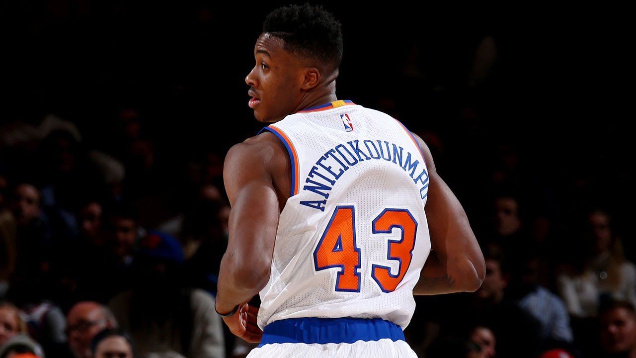 Thanasis Antetokounmpo Scores His First NBA Bucket at the ...