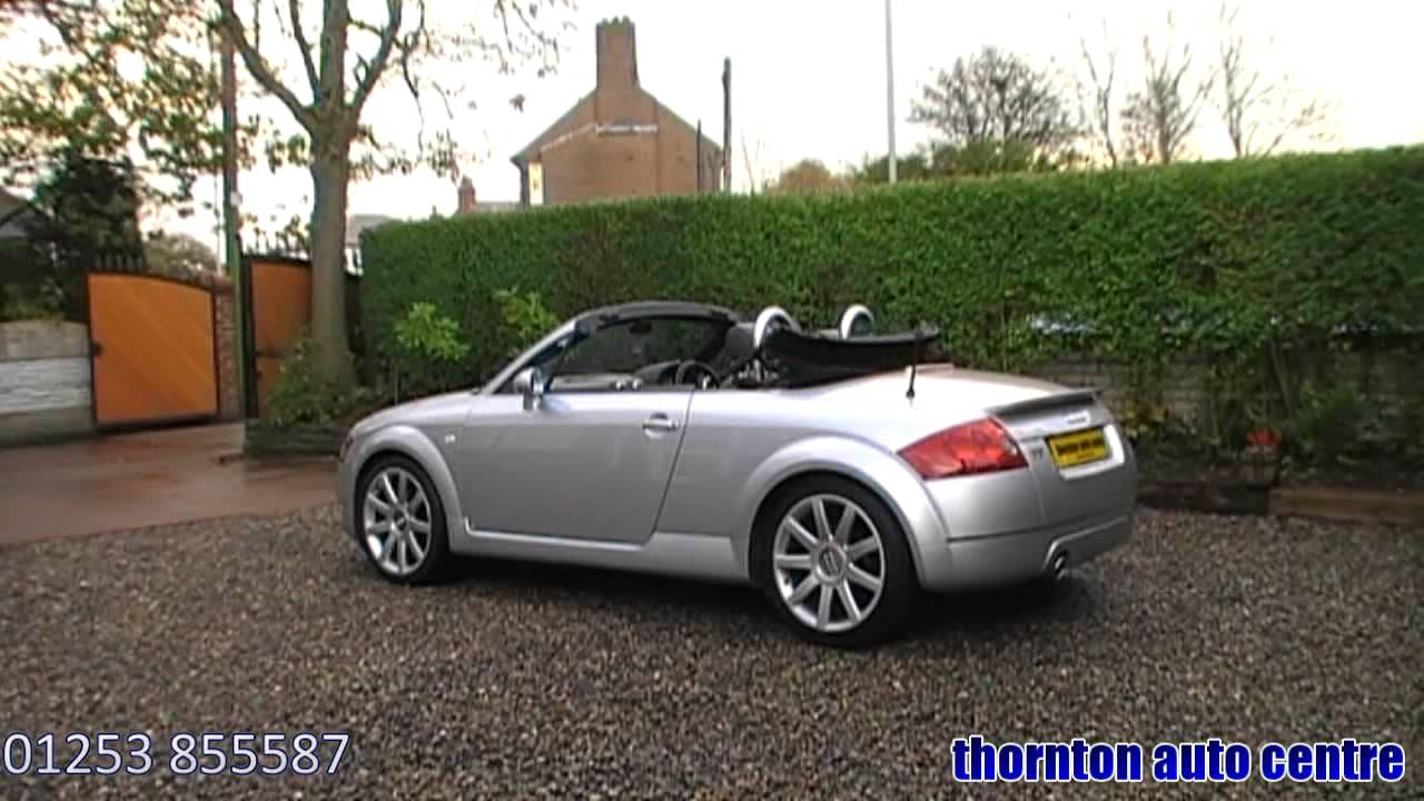 2002 audi tt roadster 1.8 t 180 quattro - youtube