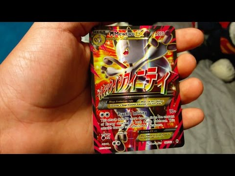 MEGA MEWTWO EX FULL ART PULL! Pokemon BREAKTHROUGH Blister Pack Opening!