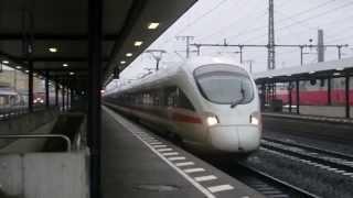 ICE-T fährt aus Fulda