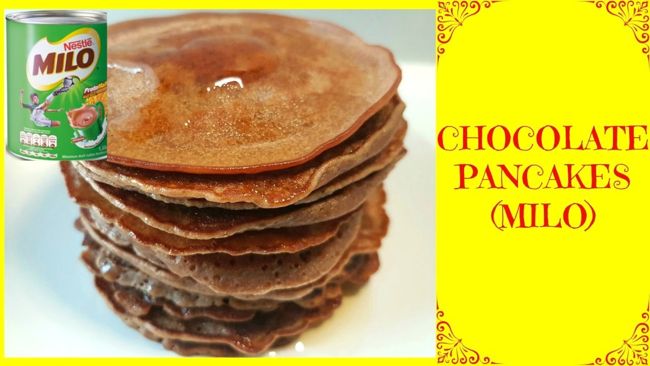 How to make the best chocolate pancakes milo pancakes recipe how to make the best chocolate pancakes milo pancakes recipe yummilieciouz food recipes ccuart Gallery