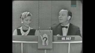 What's My Line Bennet Cerf Gets Excited by Lady Rancher 7 June 1959