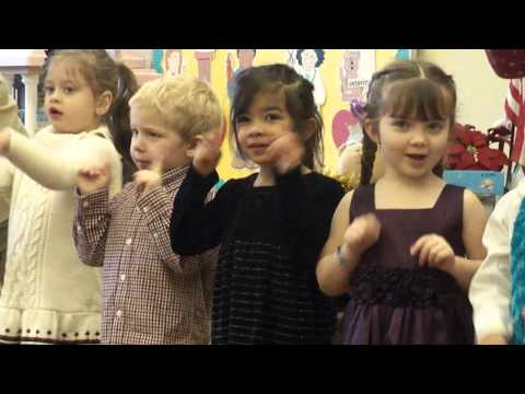 A Lily Preschool Christmas -- We Wish You a Merry Christmas