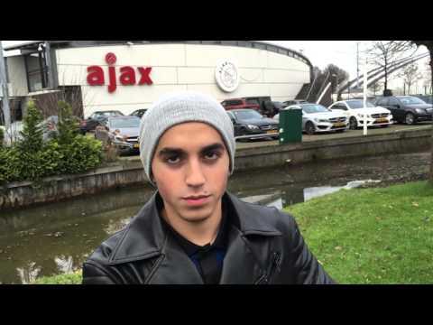 Journalist Alessandro Schiavone interviews future Ajax Amsterdam STAR Abdelhak Nouri