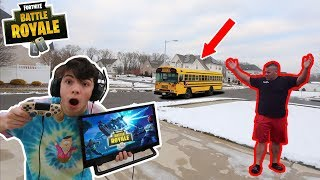 I SKIPPED School To Play FORTNITE All Day! *I GOT CAUGHT*