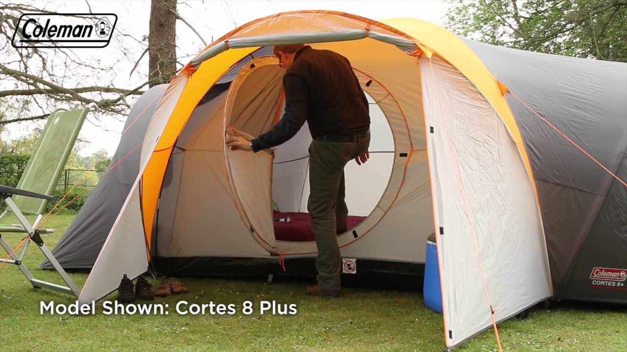 Coleman® Cortes 6+ - Six person Trekking Tent - EN & Coleman® Cortes 6+ - Six person Trekking Tent - EN - YouTube