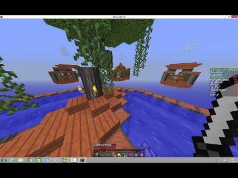 Minecraft Skywars---- Pero daj gledaj koga udaras  AUDIO BUG
