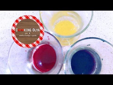 Как сделать красный краситель в домашних условиях для торта