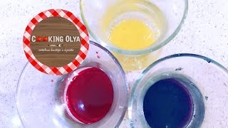 Натуральные пищевые красители своими руками | CookingOlya