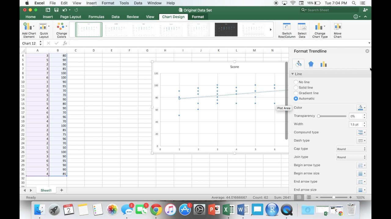 how to put two lines on a graph in excel