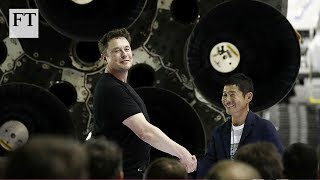SpaceX names first private passenger to fly to the Moon