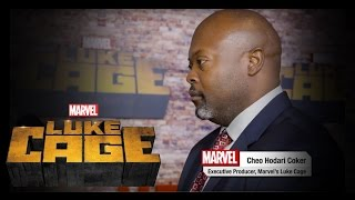 On the Red Carpet – Marvel's Luke Cage Premiere