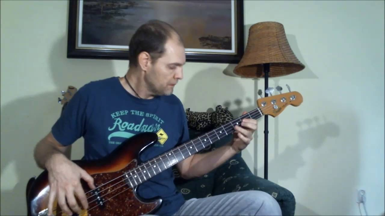 Bon Jovi - In These Arms (Bass Cover)