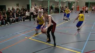 24 november 2017 Bouncers M22 vs Rivertrotters M22 69-62 3rd period