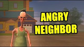 ANGRY NEIGHBOR NEW UPDATE | Hello Neighbor Ripoff