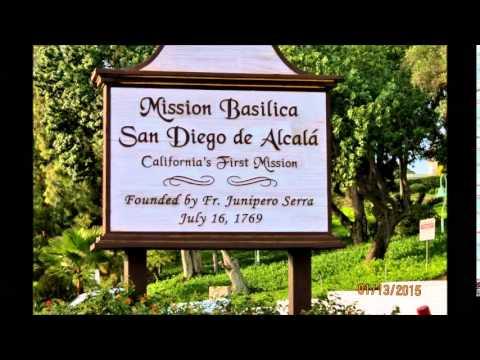 Mission Tour 1 San  Diego de Alcala