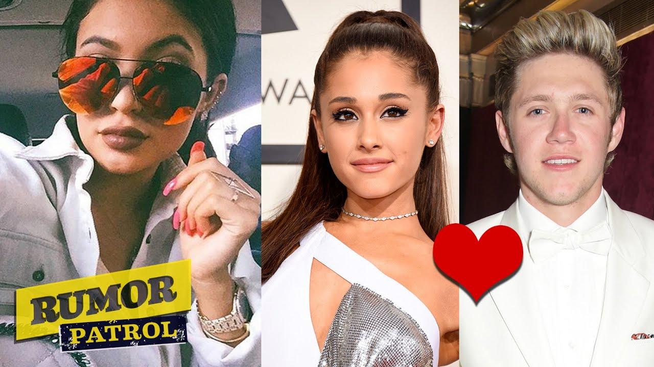 Kylie Jenner Engaged? Ariana Grande & Niall Horan London ...