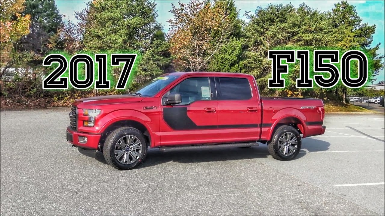 2017 Ford F150 Xlt Sport Pkg Truck Review Super Crew V8 4x4 Box Link Trailer Sync 3