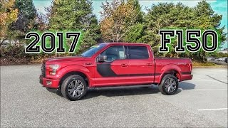 2017 Ford F150 XLT Sport Pkg. Truck Review Super Crew V8 4X4 - Box Link - Trailer - Sync 3