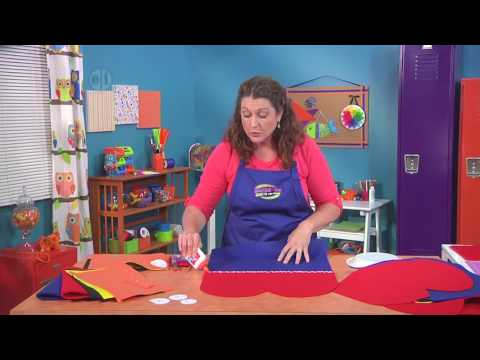 Make fuzzy bug wings with Jenny Barnett Rohrs on Hands On Crafts for Kids (1912-2)