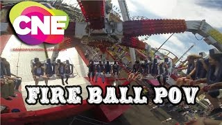This giant pendulum will swing you up to 127 degrees as this extrem...