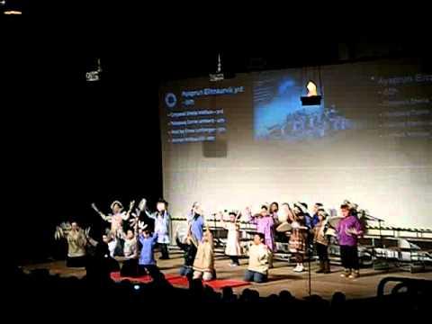 Ayaprun Elitnaurvik 3rd - 6th grade dancers - Camai Dance Festival 2011