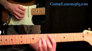 Mr. Crowley Guitar Lesson Pt.1 - Ozzy Osbourne - Verse - Randy Rhoads