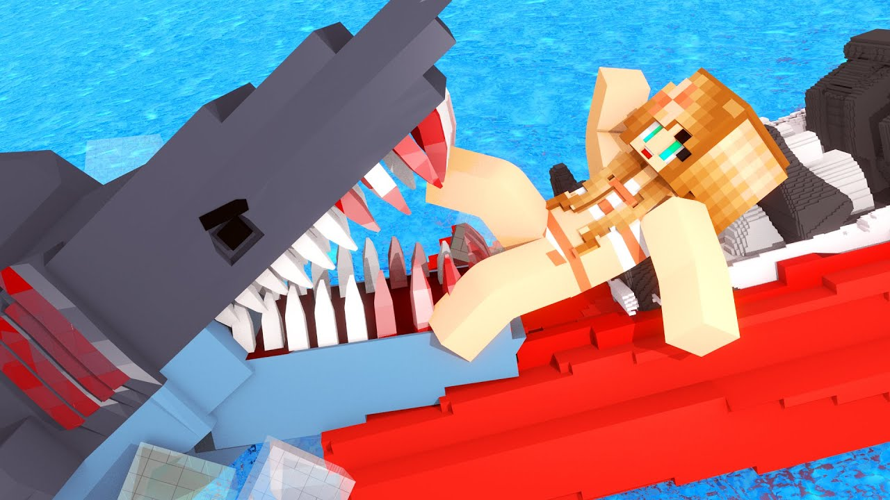 Jaws movie the first shark attack minecraft roleplay for The atlantic craft minecraft