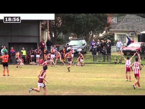 SMJFL 2014 U17 DIV 1 - Murrumbeena Gold v Mordialloc Braeside