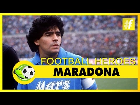 Maradona | Football Heroes | Full Documentary