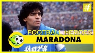 """Diego maradona has given a series of marvelous and record-breaking goals to the world football making him greatest player on earth. """"the golden boy"""" h..."""